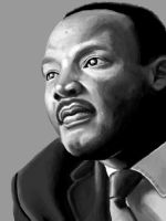 Dr. Martin Luther King Jr. by EclecticNinja