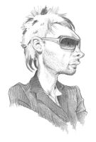 Thom Yorke by pituman