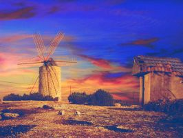 windmill by tomatokisses