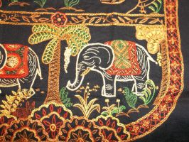 Elephant Purse Embroidery 1 by redambrosia