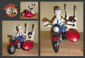 Wallace And Gromit Tooth Brush Holder by mikedaws