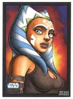 Ahsoka Tano G6 Artist Proof by Erik-Maell