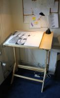 New sketching table by Joshua-Mozes