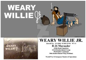 Weary Willie Jr by nagromelyahs