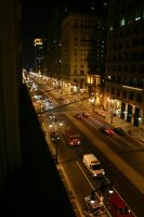 Broad Street from Above by kingkool6