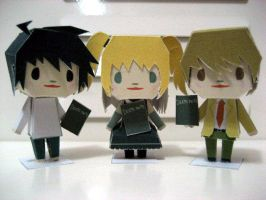 Three from Deathnote by smilerobinson