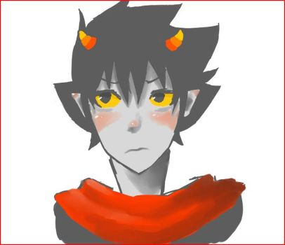 Karkat Vantas Winter by KHIZSBNMP