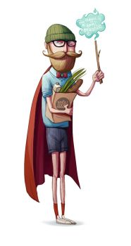 The hipster wizard by room4shoes