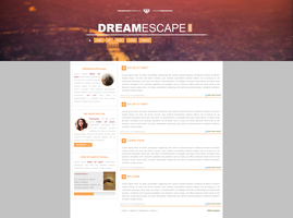 DREAMESCAPE GPortal Theme ++FREE by BrielleFantasy