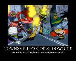 Townsville's Going Down by DarkRoseDiamond123