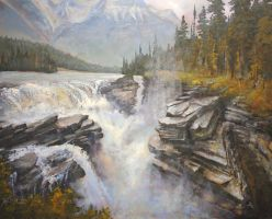Majestic Athabasca by artistwilder