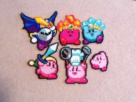 Kirby Perler beads by TheBeadLord