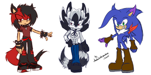 Some Commissions by shadowhatesomochao