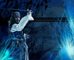 Jack Sparrow Wallpaper PS by Jackolyn