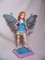 'Bloom' ooak fairy by AmandaKathryn