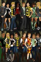 Glee at Hogwarts by You-Know-Who-I-Is