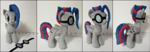 Plushie: Silver String - My Little Pony: FiM by Serenity-Sama
