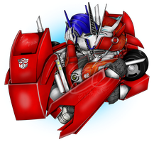 Optimus and Causeway - Passionate Kiss by Lady-ElitaOne
