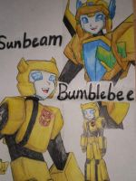 Bumblebee and Sunbeam by Israel42