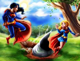 Superwoman Supergirl Find Comm by MistyTang by kclcmdr