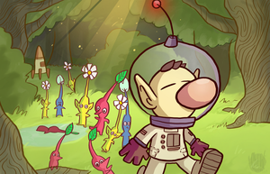 Pikmin Wallpaper by ChewInc