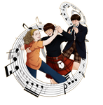 Time, space, music by Miss-Alex-Aphey