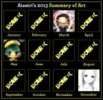 Art summary 2013 by Aiseiri