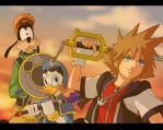 _Kingdom_Hearts_sunset_ by LadyGT