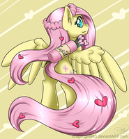 Cupid Fluttershy by Diigii-Doll