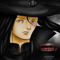 Vampire Hunter D by THEAIMANDPS