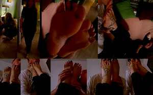 Seance Foot Worship with Miss L.. by poulop666