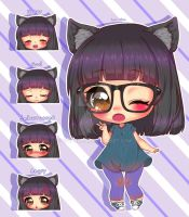 Mini Carly by Eve--chan