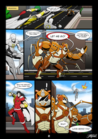 Commission: Agent Prime Page 2 by VexusVersion