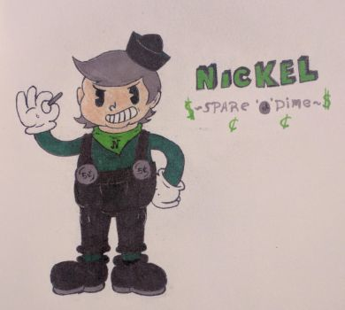 Nickel Spare'O'Dime by solidservine97