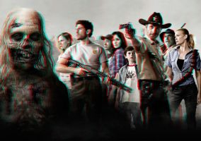 The Walking Dead 3-D conversion by MVRamsey