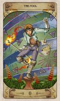 Cerebium Tarot 0 - The Fool by Hedrick-CS
