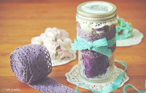Sweet Gift in a Glass Jar by whocaresme