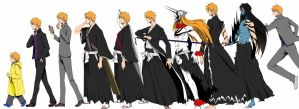 Ichigo Evolution by MasterPK