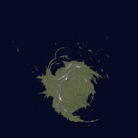 Fractal Map Experiment (Free Use Map) by FeroceFV