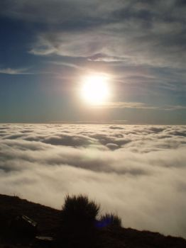 Sea of clouds by elvilli