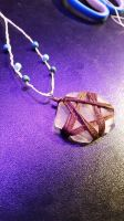 Witchy Sea Glass Necklace by WillowKid