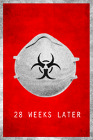 28 Weeks Later Minimalist Poster by MrAngryDog