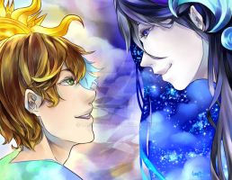 Day and Night by Luneatta