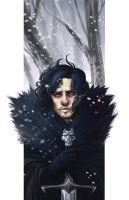 Jon Snow by kmwoot