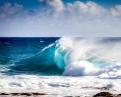 The Wave at South Point by dkwynia