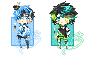 [HOLD 1/2] Humanoids [Points/Paypal|OTA] by Shu-Adopts