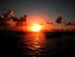 Bahamian Sunrise by volpe60610