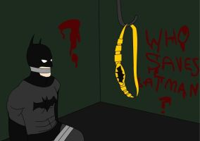 Who saves Batman? by jokerismyname