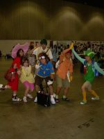 AX 08 Digimon Adventure Group by MizunoMirai
