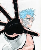 24#- Bleach- Grimmjow Jaegerjaquez by Gasperman100